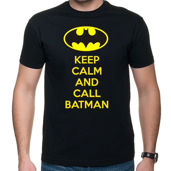 Koszulka męska - Keep calm and call batman